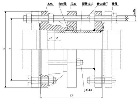 CC2F型可拆式双法兰松套传力齐齐乐棋牌手机版官方